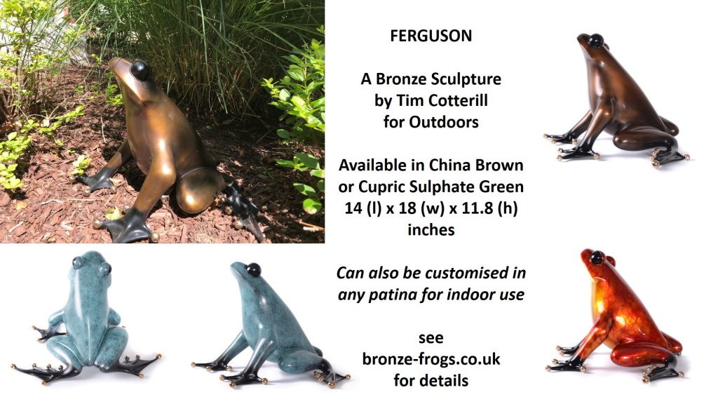 Bronze outdoor sculpture by Tim Cotterill